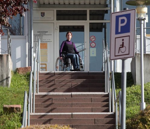 Treppenlift Rollstuhlfahrer