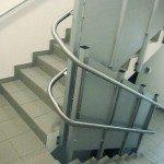 Treppenhaus Kurvenlift