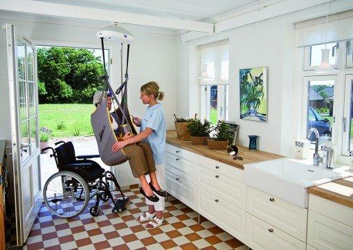 deckenlifte f r rollstuhlfahrer preise kosten vergleichen. Black Bedroom Furniture Sets. Home Design Ideas